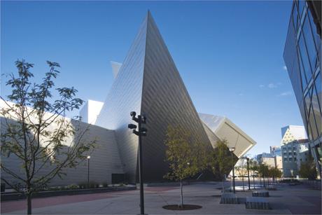 Museum on Denver Art Museum  Frederic C  Hamilton Building